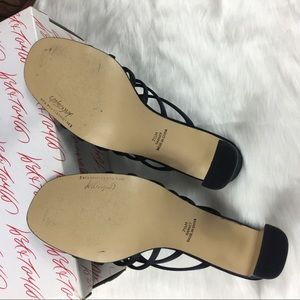 Lord & Taylor Shoes - Lord & Taylor Black Strappy Formal Heels 7.5M